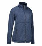 Mikina fleece melange Zip´n´Mix 0848 / dámska MsP
