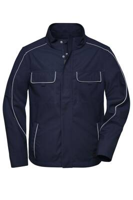 Bunda softshell light JN882 navy / pánska